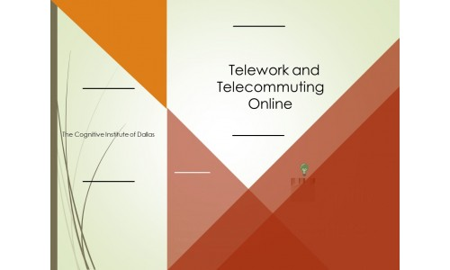 Telework and Telecommuting Online